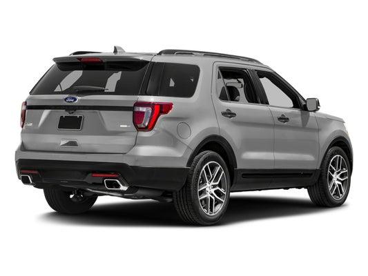 2017 Ford Explorer Sport 4wd In Bridgewater Nj Open Road Automotive Group