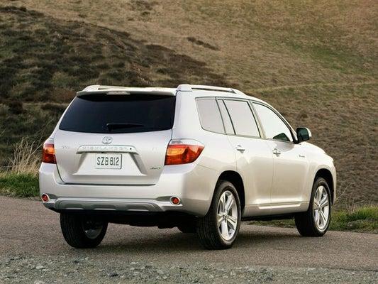 2009 Toyota Highlander 4wd 4dr V6 Limited In Bridgewater Nj Open Road Automotive Group